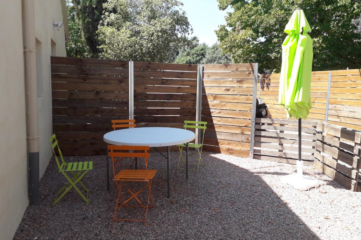 Salle d'eau - Location de vacances - Saint-André-de-Sangonis