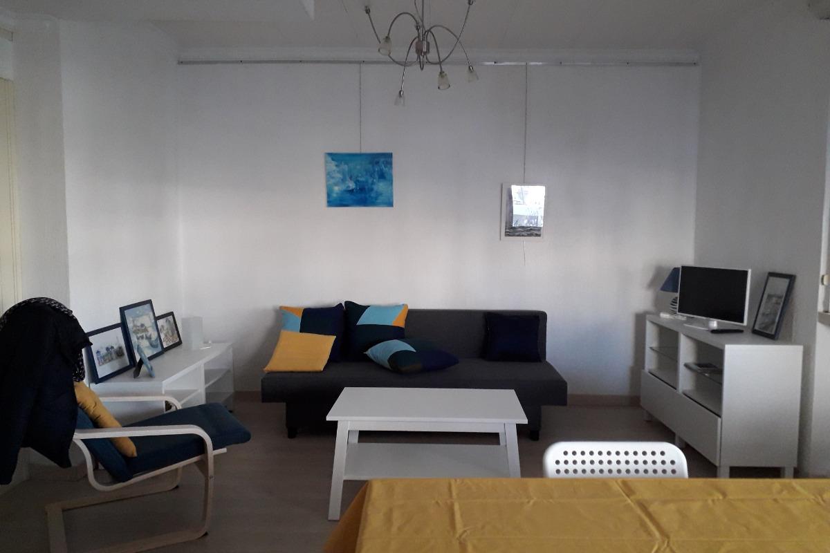 Espace Salon/TV - Location de vacances - La Grande-Motte