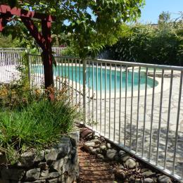 piscine sécurisée - Location de vacances - Saint-André-de-Sangonis
