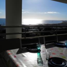 Terrasse vue mer - Location de vacances - Sète