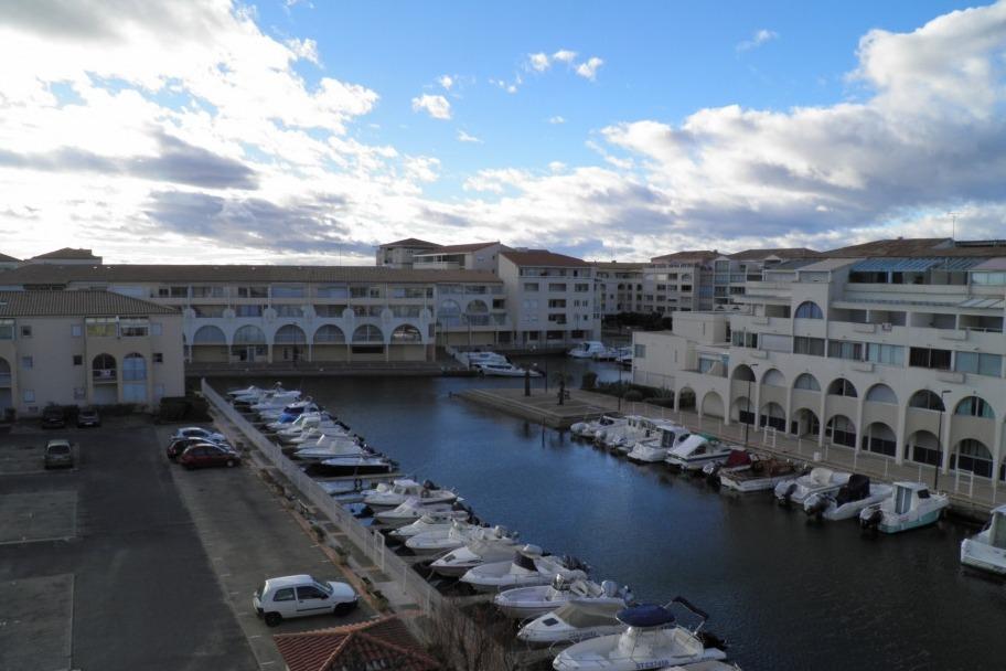 Vue sur la Marina  - Location de vacances - Sète