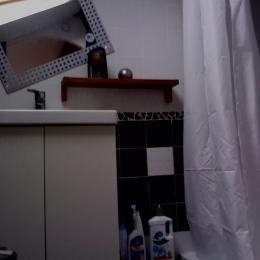 salle d'eau - toilette - sur la mezzanine -chambre familiale -chambre d'hôte Béziers - Chambre d'hôtes - Béziers
