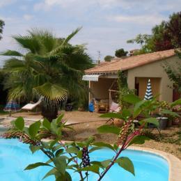 la piscine le jardin chambre d'hôte Béziers - Chambre d'hôtes - Béziers