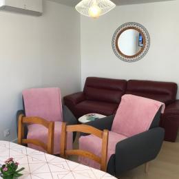 Salon Climatisé - Location de vacances - Agde