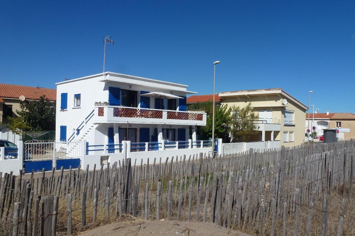 appartement au premier vue sur la mer - Location de vacances - VALRAS-PLAGE