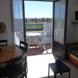 Séjour, salle à manger - Location de vacances - VALRAS-PLAGE
