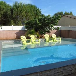 piscine - Location de vacances - BRIGNAC