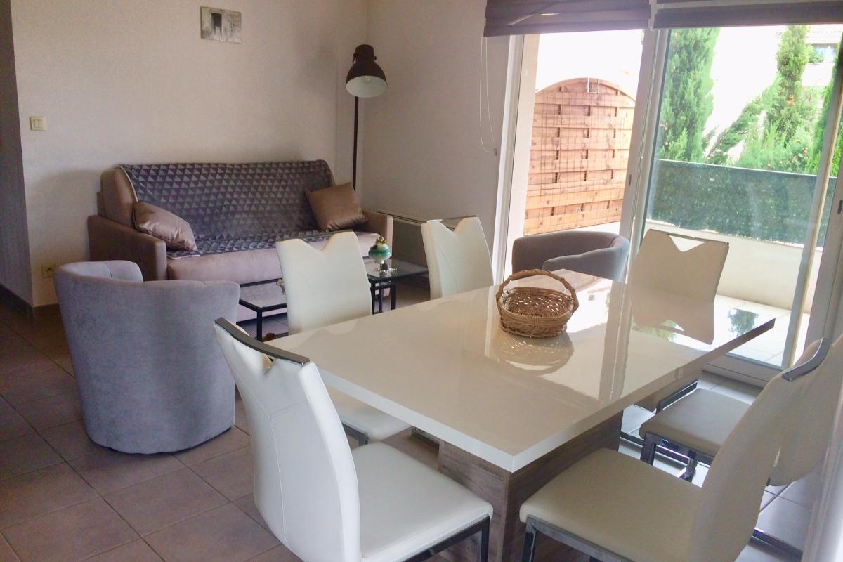 Espace salon/séjour  - Location de vacances - Agde