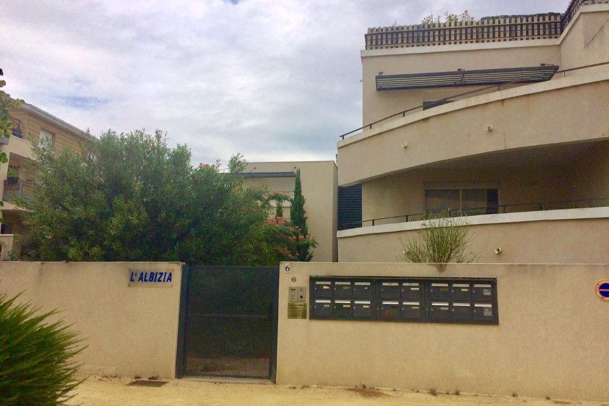 Façade résidence Albizia - Location de vacances - Agde