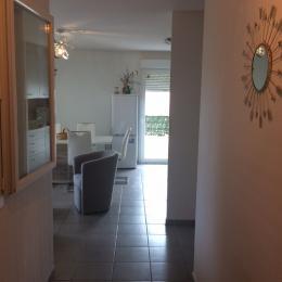 Entrée appartement - Location de vacances - Agde