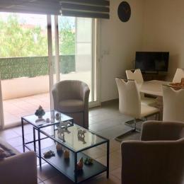 Espace salon/séjour TV - Location de vacances - Agde