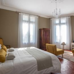 Vue depuis la chambre - Chambre d'hôtes - Montbazin