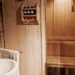 Espace sauna - Chambre d'hôtes - Montbazin