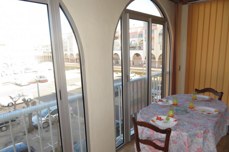 Loggia vitrée - Location de vacances - Sète