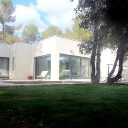 Villa vue de l'exterieur - Location de vacances - Prades-le-Lez
