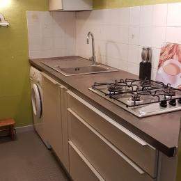 La salle de bains de l'étage - Location de vacances - La Fresnais