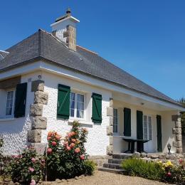 Vue de face de la maison - Location de vacances - Saint-Malo