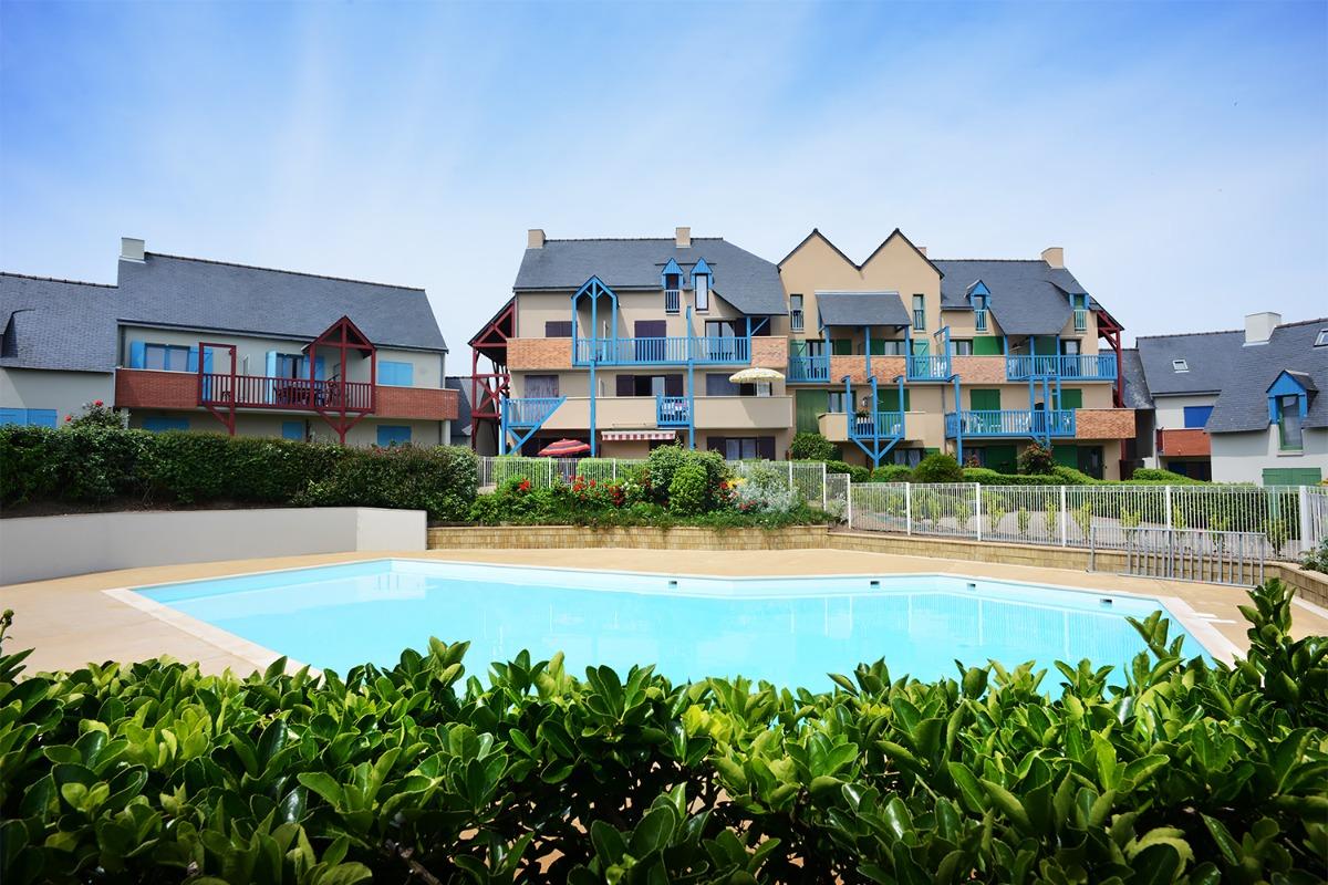 Piscine ouverte du 15 juin au 15 septembre. - Location de vacances - Saint-Malo