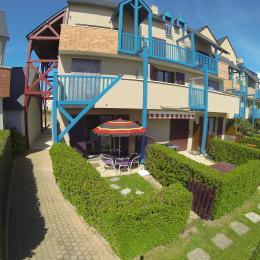 Vue de la location, en grand angle. - Location de vacances - Saint-Malo