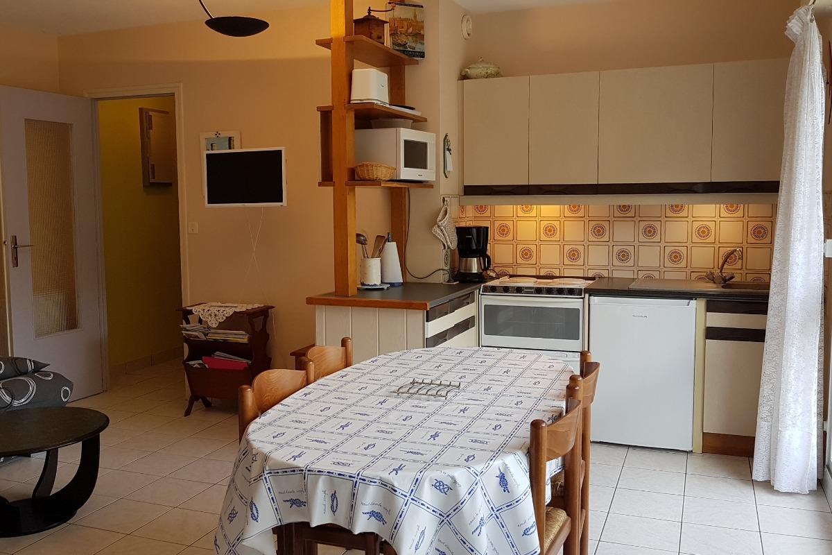 Le coin-cuisine - Location de vacances - Saint-Malo