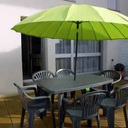 La terrasse - Location de vacances - Saint-Malo