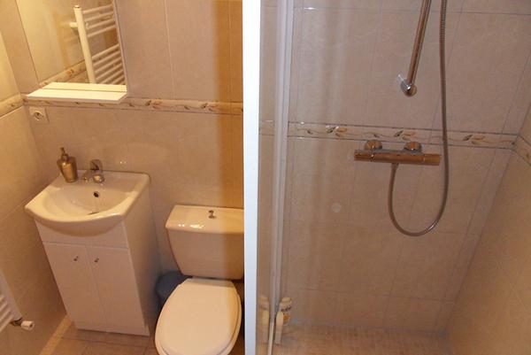 Toilette et douche - Location de vacances - Saint-Malo