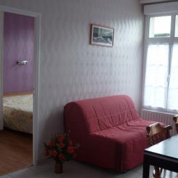 Chambre et salon - Location de vacances - Saint-Malo