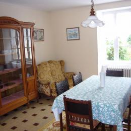 Salle à manger - Location de vacances - Saint-Coulomb