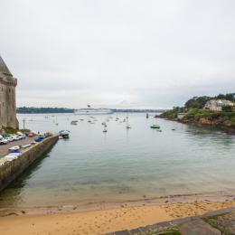 vue de la cuisine et chambre 2  - Location de vacances - Saint-Malo