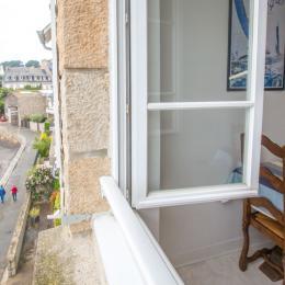 vue sur la cale de Solidor et passage du GR34 - Location de vacances - Saint-Malo