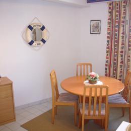 Salle à manger - Location de vacances - Saint-Malo