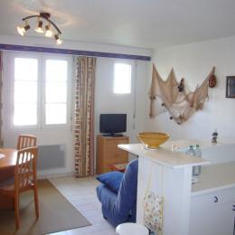 Salle à manger et Salon - Location de vacances - Saint-Malo