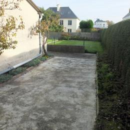 Le parking en emplacement clos - Location de vacances - Saint-Malo