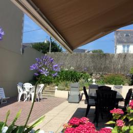 La terrasse du rez-de-chaussée - Location de vacances - Saint-Malo
