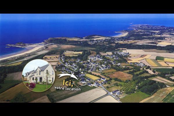 La maison et les plages à proximité - Location de vacances - Saint-Coulomb