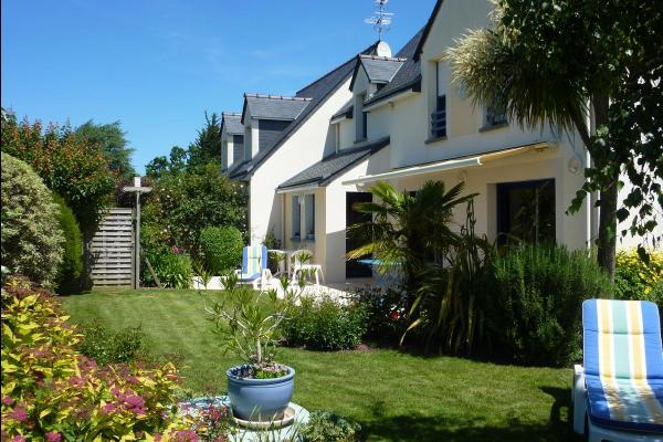 Vue globale votre gite indépendant juxtaposé à notre habitation - Location de vacances - Saint-Coulomb