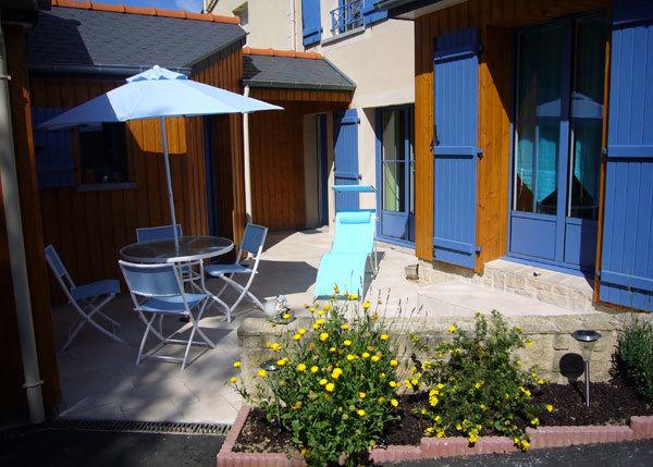 Terrasse de l'appartement la cabane du pêcheur - Location de vacances - Saint-Malo