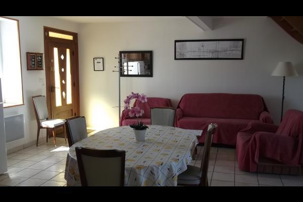 Rez-de-chaussée - sallon - Location de vacances - Cherrueix