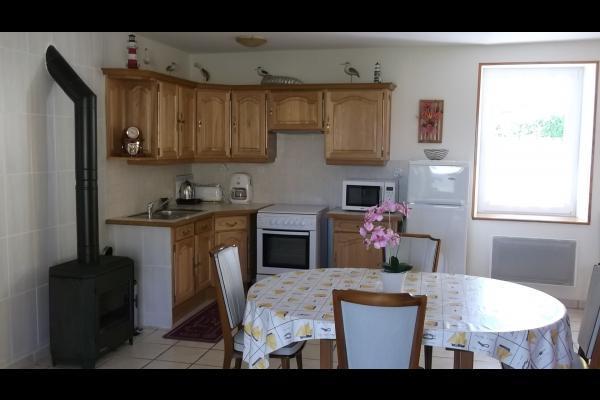 Rez-de-chaussée - cuisine - Location de vacances - Cherrueix
