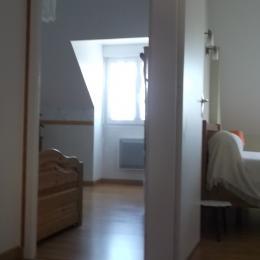 palier entre les deux chambres - Location de vacances - Cherrueix