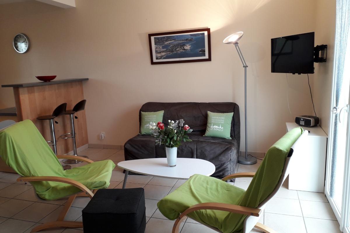 Chambre Cancalaise - Location de vacances - La Fresnais