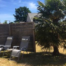 Jardin - Location de vacances - La Richardais