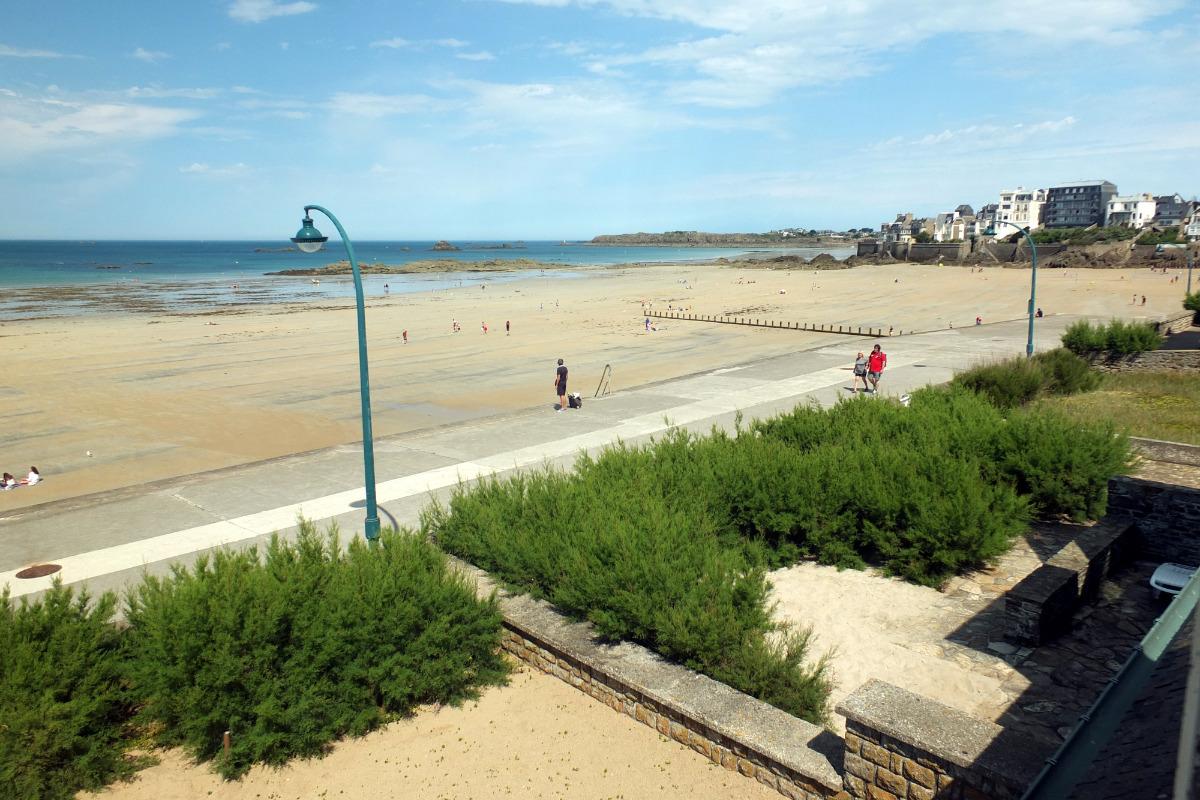 Le séjour face à la mer - Location de vacances - Saint-Malo