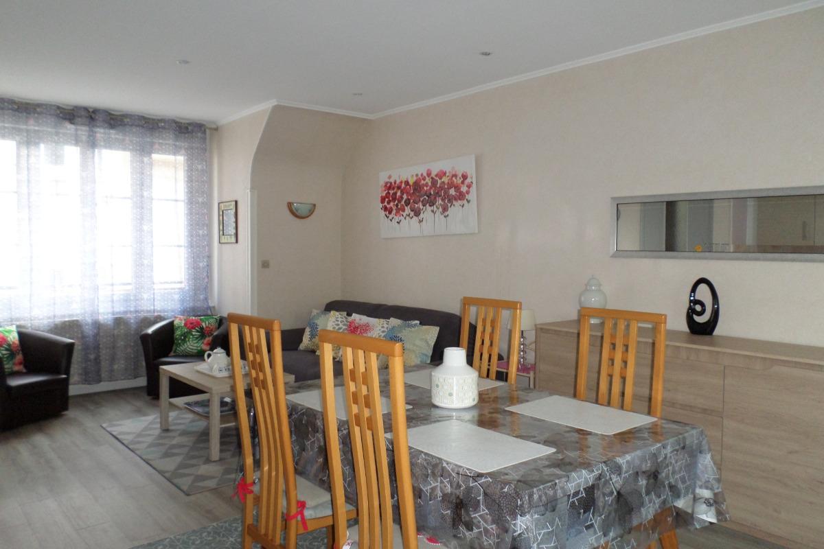 Salon / séjour - Location de vacances - Dinard