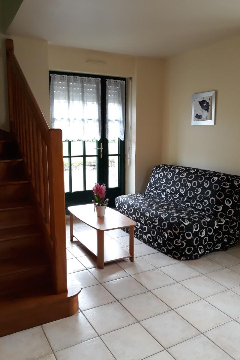 salon - Location de vacances - Saint-Méloir-des-Ondes