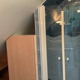 salle d'eau - Location de vacances - Saint-Méloir-des-Ondes