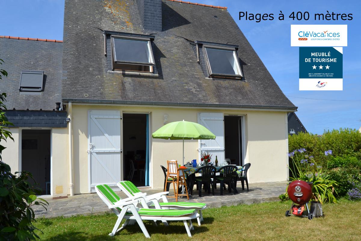 Maison avec Jardin à 400 m de la Plage, 3 chambres,6 couchages,Wifi, 2 SdE, 2 WC - Location de vacances - Saint-Malo