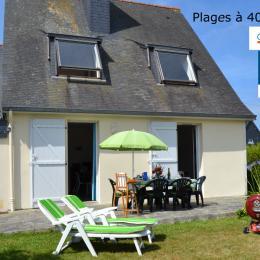 Maison avec jardin, plages à pieds, 6 couchages, 3 chambres,2 SdE, 2 WC, wifi - Location de vacances - Saint-Malo