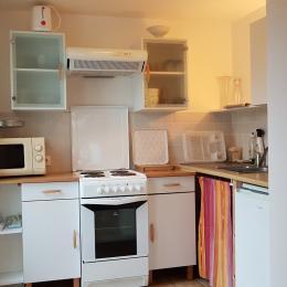cuisine - Location de vacances - Saint-Méloir-des-Ondes