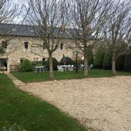 jardin et parking de caractere - Location de vacances - Saint-Malo
